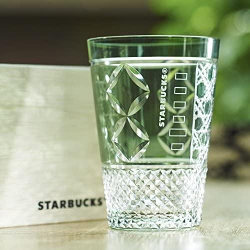 スタバの江戸切子グラス