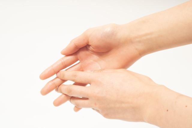 手ピカジェルプラスの正しい消毒の方法
