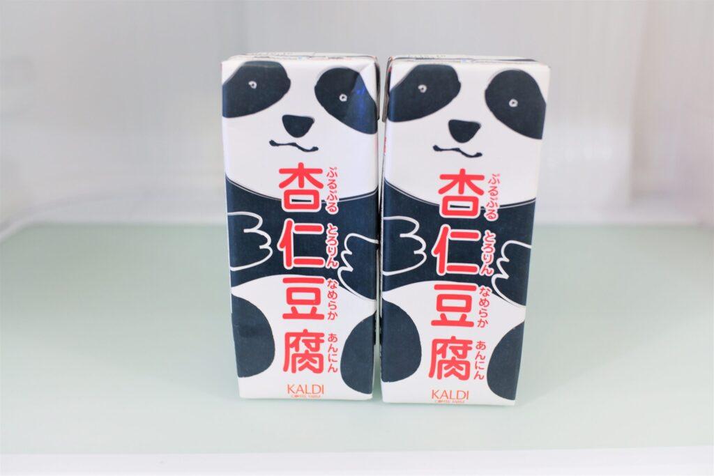 パンダの杏仁豆腐(カルディ)