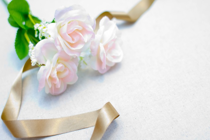 お花とリボン